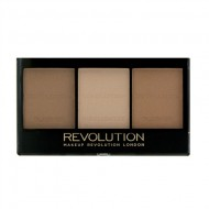 Палетка для контурирования Ultra Sculpt & Contour Kit MakeUp Revolution Ultra Light/Medium C04: фото