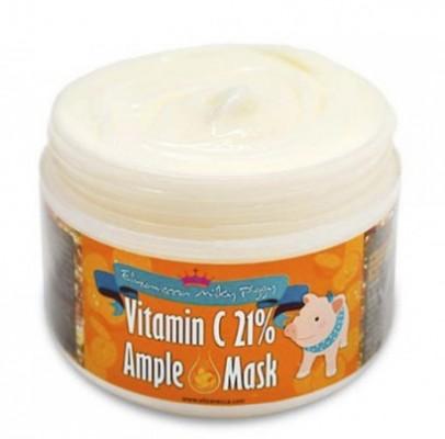 Маска разогревающая с витамином C ELIZAVECCA Milky Piggy Vitamin C 21% Ample Mask: фото