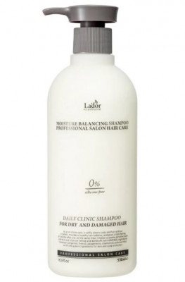 Шампунь для волос без силикона LA'DOR Moisture balancing shampoo 530 мл: фото