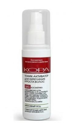 Тоник-активатор для укрепления и роста волос KORA 100мл: фото