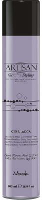 Лак для волос экстра-сильной фиксации NOOK Artisan С'era Lacca Genius Styling 500 мл: фото