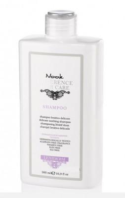 Шампунь успокаивающий для чувствительной кожи головы NOOK Difference Hair Care Leniderm Ph 5,5 500 мл: фото