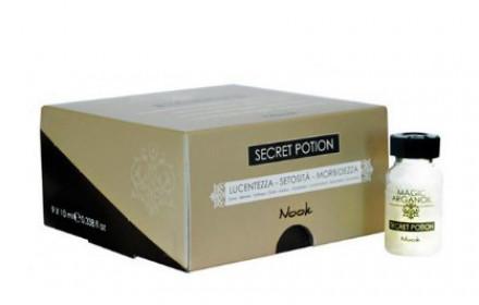 Интенсивный уход Секретное снадобье с маслом Арганы и Кератином NOOK Instant Reconstruction 9*10мл: фото