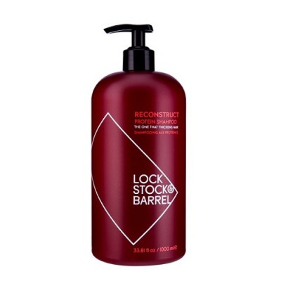 Шампунь для тонких волос Lock Stock&Barrel Reconstruct Thickening Shampoo 1000 мл: фото