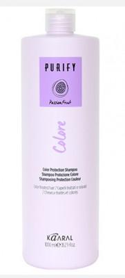 Шампунь для окрашенных волос Kaaral Purify-Colore Shampoo 1000мл: фото