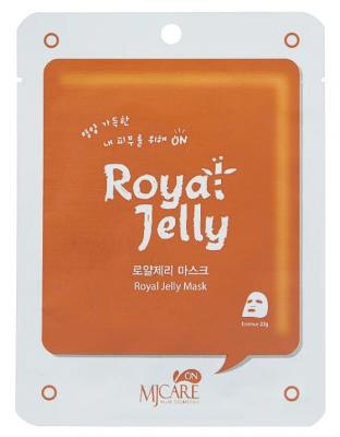 Маска тканевая с маточным молоком Mijin MJ on Royal Jelly mask pack 22гр: фото