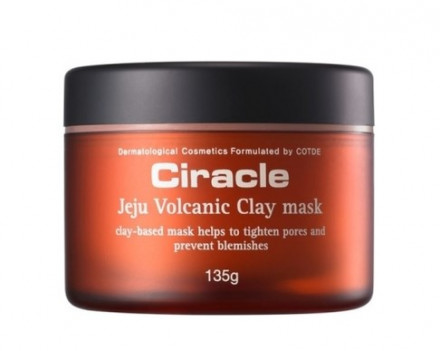 Маска из вулканической глины чеджу Ciracle Jeju Volcanic Clay Mask 135г: фото