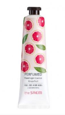 Крем-эссенция для рук парфюмированный THE SAEM Perfumed Hand Light Essence Grapefruit 30мл: фото