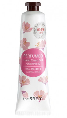 Крем-гель для рук парфюмированый THE SAEM Perfumed Hand Clean Gel Grace Peony 30мл: фото