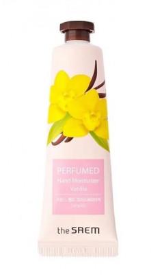 Крем для рук парфюмированный увлажняющий THE SAEM Perfumed Hand Moisturizer Vanilla 30мл: фото