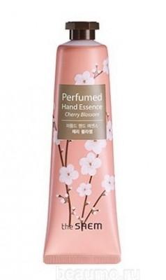 Крем-эссенция для рук парфюмированный THE SAEM Perfumed Hand Essence Cherry Blossom 30мл: фото