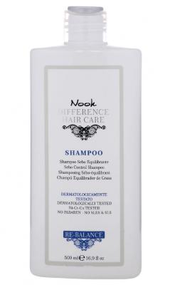 Шампунь для кожи головы, склонной к жирности Nook Re-Balance Shampoo Ph5,0 500мл: фото