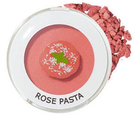 Тени для век мерцающие THE SAEM Saemmul Single Shadow Shimmer CR05 Rose Pasta 1,6г: фото