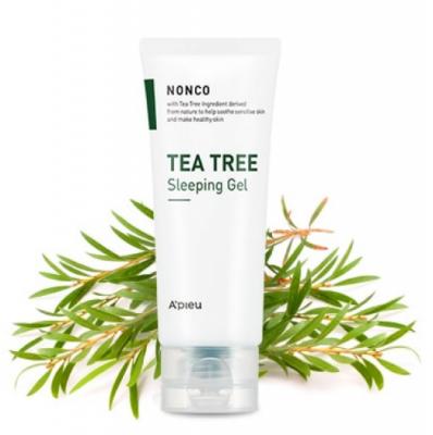 Гель ночной для проблемной кожи A'PIEU NONCO TEA TREE SLEEPING GEL 80мл: фото