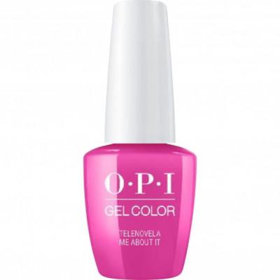 Гель для ногтей OPI GelColor Telenovela Me About It GCM91 15 мл: фото