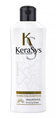 Шампунь укрепляющий для тонких и ослабленных волос KeraSys Revitalizing shampoo 180 мл: фото