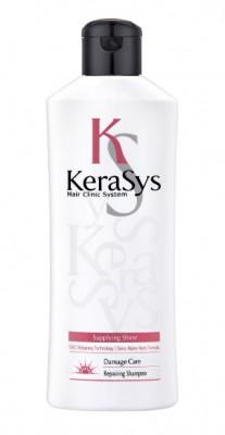 Шампунь восстанавливающий для поврежденных волос KeraSys Damage care repairing 180 мл: фото