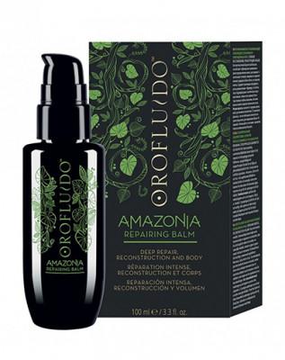 Бальзам несмываемый для ослабленных и поврежденных волос Orofluido AMAZONIA 100 мл: фото