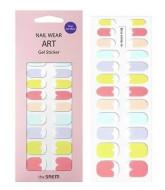 Наклейки для ногтей THE SAEM Nail Wear Art Gel Sticker 08 Rainbow Pastel: фото