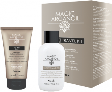 Набор для волос Магия Арганы NOOK Secret Trevel KIT100мл + 50мл: фото