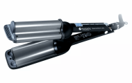 Плойка-волна Hairway Black&Silver Line 80W С036 16-20-16 мм: фото