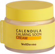 Крем для лица КАЛЕНДУЛА WELLDERMA Calendula Calming Soon Cream 80 мл: фото
