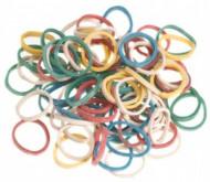 Резинки эластичные для причесок Sibel 15мм цветные 500 шт: фото