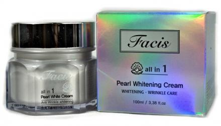 Крем для лица с экстрактом жемчуга Facis Resurrection Plant Cream 100мл: фото
