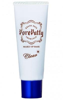 База под макияж выравнивающая Sana Pore putty make up base clear 25г: фото
