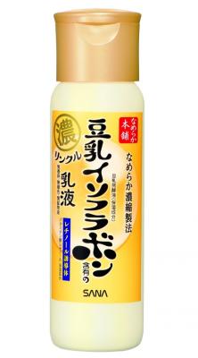 Лосьон увлажняющий и подтягивающий с ретинолом и изофлавонами сои Sana Wrinkle lotion 200мл: фото