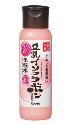 Лосьон с изофлавонами сои и капсулированным коэнзимом Sana Soy milk haritsuya lotion 200мл: фото