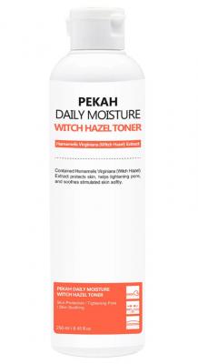 Тонер для лица поросужающий с экстрактом гаммелиса Pekah Daily moistur 250мл: фото