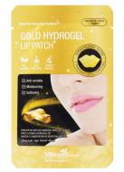 Патчи для губ гидрогелевые с золотом MBeauty Gold hydrogel lip patch 2мл: фото