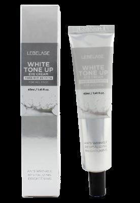 Крем для век осветляющий Lebelage Eye cream white tone up 40мл: фото