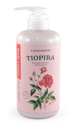 Лосьон-молочко для тела ароматерапия Роза Laura Rosse Body lotion rose 500мл: фото