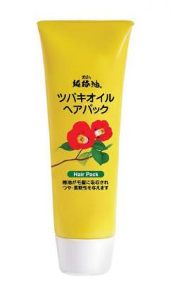 Маска восстанавливающая для повреждённых волос Kurobara Camellia oil hair pack 280г: фото