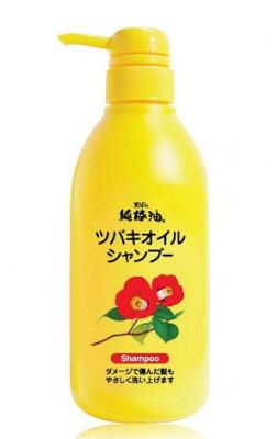 Шампунь для поврежденных волос Kurobara Camellia oil hair shampoo 500мл: фото