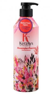 Шампунь парфюмированный Флер KeraSys Blooming&flowery parfumed 600мл: фото