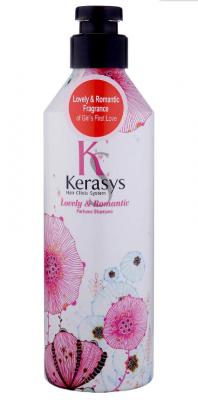 Шампунь парфюмированный Романтик KeraSys Lovel&romantic parfumed shampoo 600мл: фото