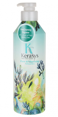 Кондиционер для волос парфюмированный Шарм KeraSys Pure&charming parfumed rinse 600мл: фото