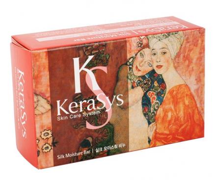 Мыло косметическое Шелковое увлажнение KeraSys Silk moisture 100г: фото