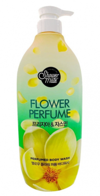 Гель для душа парфюмированный Жасмин KeraSys Shower mate flower perfume 900мл: фото