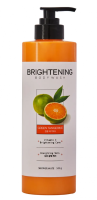 Гель для душа Заряд энергии KeraSys Shower brightening green tangerine 500мл: фото