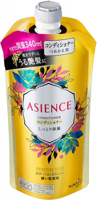 Кондиционер для волос увлажняющий KAO Asience moisturizing conditioner 340мл: фото