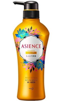 Шампунь для волос увлажняющий KAO Asience moisturizing type shampoo 450мл: фото